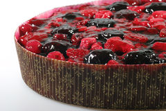 Fruit Pie. Closeup of delicious fruit pie with berries Royalty Free Stock Photography
