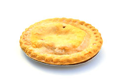 Fruit pie. Shot of a fruit pie on white royalty free stock photo