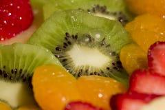 Fruit pie. Close-up a fruit pie Stock Images