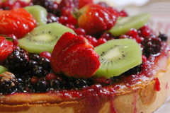 Fruit Pie Royalty Free Stock Photography