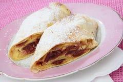 Fruit pie dessert Stock Images