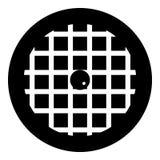 Fruit pie icon, simple style Royalty Free Stock Photos