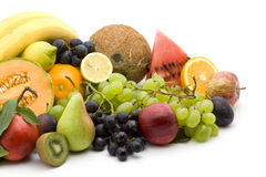 Fruit pile Stock Images