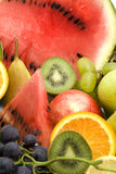 Fruit pile Stock Image