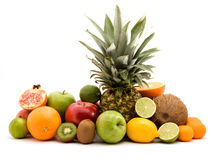 Fruit pile Royalty Free Stock Photography