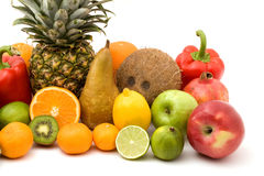 Fruit pile Royalty Free Stock Photos