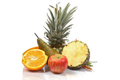 Fruit pile Royalty Free Stock Images