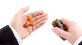 Fruit pills Stock Photos