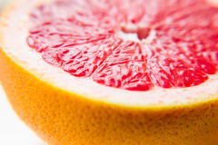 Fruit pink grapefruit in the cut. A vitamin product. Healthy eating.  stock photo