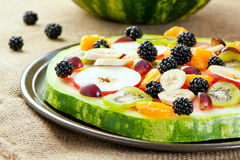 Fruit pizza Royalty Free Stock Photos
