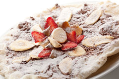 Fruit Pizza Stock Photography