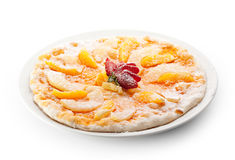 Fruit Pizza Royalty Free Stock Photography
