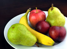 Fruit Plate Royalty Free Stock Image