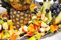 Free Fruit Plate Royalty Free Stock Photo - 12820115