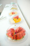 Fruit plate Stock Photos
