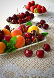 Fruit plate. Stock Images