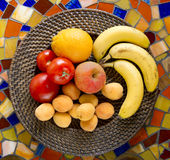 Fruit plate Royalty Free Stock Photo