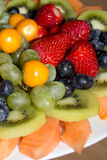 Fruit plate Royalty Free Stock Images