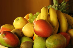 Fruit plate Stock Photography