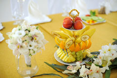 Fruits and Flowers Royalty Free Stock Images