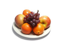 Fruit plate Stock Photo