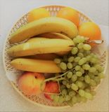 The fruit on the plate Royalty Free Stock Photography