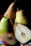 Fruit plate with pears Royalty Free Stock Image