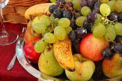 Fruit Plateau Stock Images