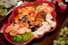 Fruit platter Stock Images