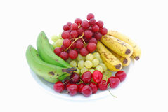 Fruit platter Stock Image