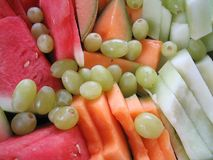 Fruit platter.  Stock Photos