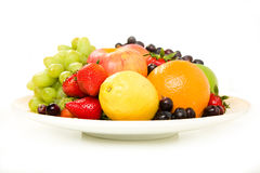 Fruit Platter with Apple Royalty Free Stock Photography