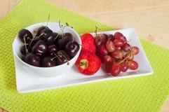 Fruit platter Royalty Free Stock Photos
