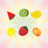 Fruit pop Royalty Free Stock Image