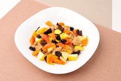Fruit Porridge Stock Photos