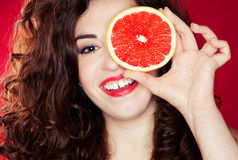 Fruit portrait Royalty Free Stock Images