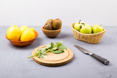 Fruit for preparation Stock Photo