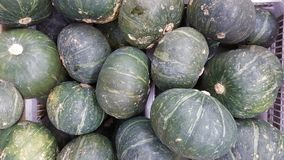 Pile of oval shape watermelon royalty free stock photography