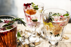 Fruit punch beverage freshness cocktail Royalty Free Stock Photo
