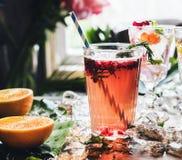 Fruit punch beverage freshness cocktail Stock Images