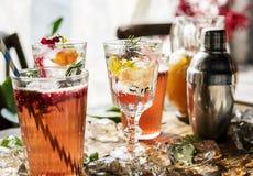 Fruit punch beverage freshness cocktail Stock Image