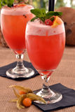 Fruit punch cocktail. Stock Photo