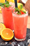 Fruit punch cocktail. Royalty Free Stock Photo