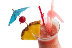 Fruit punch cocktail Royalty Free Stock Photo