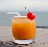 Fruit punch or mocktail Royalty Free Stock Image