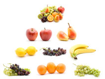Fruit pyramid Royalty Free Stock Photo