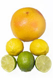 Fruit pyramid Royalty Free Stock Photos