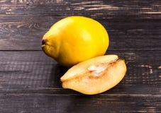 Fruit quince Stock Photos