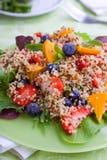 Fruit quinoa salad Stock Photos