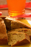 Fruit and raisin Cake Stock Image